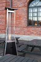 Hoe terrasverwarmer onderhouden?
